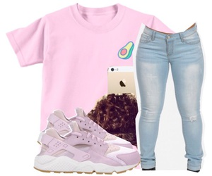 iphone, outfit, and nike huaraches image