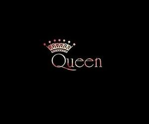 Queen, wallpaper, and black image