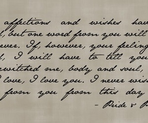 pride and prejudice, jane austen, and quote image