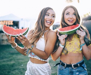 coachella, watermelon, and meredith foster image