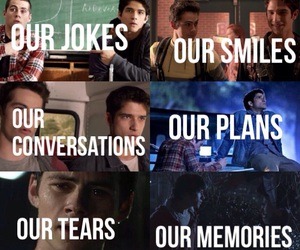 scott, stiles, and teenwolf image