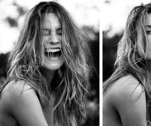 model, Behati Prinsloo, and smile image