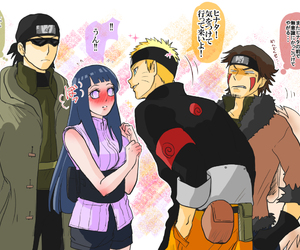anime, kiba, and naruto image