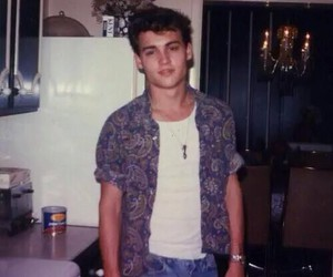 johnny depp, young, and boy image