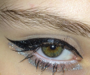 eye, makeup, and aesthetic image