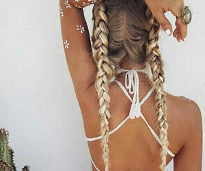 fashion, haïr, and hairstyle image
