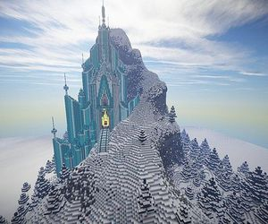 frozen and minecraft image