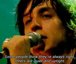 julian casablancas, the strokes, and you only live once image