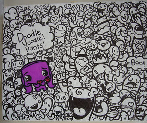 doodle and canvas doodles image