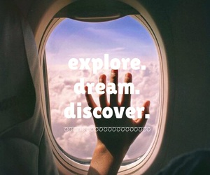 discover, happy, and travel image
