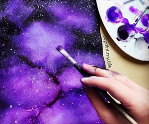 art, beautiful, and painting image