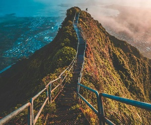 travel, nature, and hawaii image