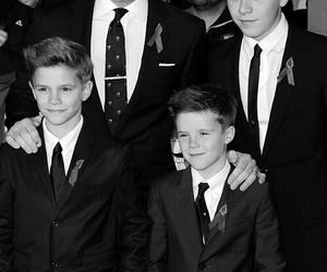family, beckham, and David Beckham image