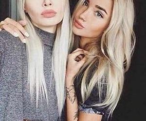blue eyed, perfect makeup, and fashion style stylish image