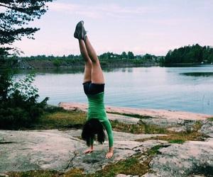 finland, girl, and gymnastics image