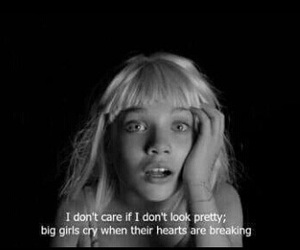 ️sia, quotes, and big girls cry image