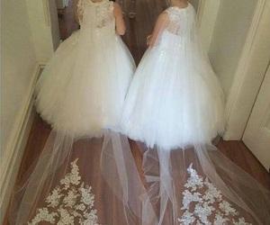 girl, wedding, and cute image