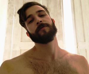 beard, Hot, and boy image