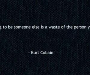 quotes, kurt cobain, and text image