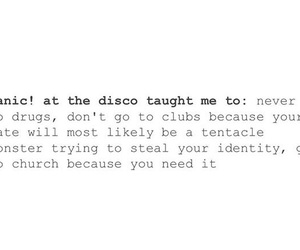 bands, brendon urie, and funny image