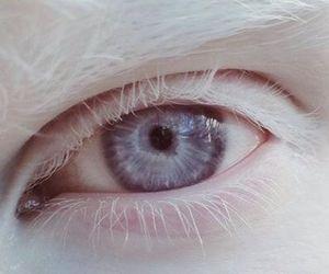 eye, eyes, and white image