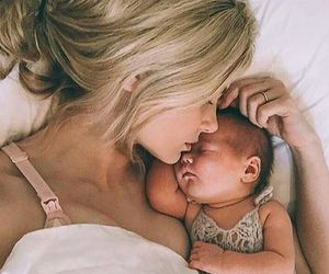 baby, family, and mother image