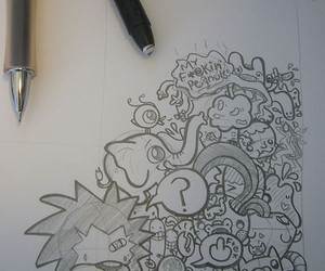 cool!, podgypanda, and doodle image