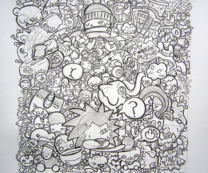 doodle, pencil, and podgypanda image