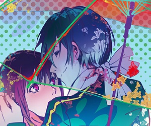 noragami, yato, and yatori image