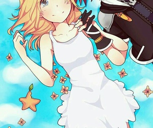 sora, namine, and kingdom hearts image