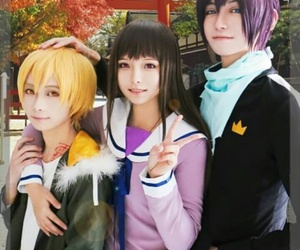 cosplay, yato, and hiyori image