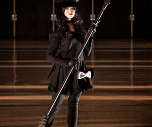 cosplay, black rock shooter, and dead master image
