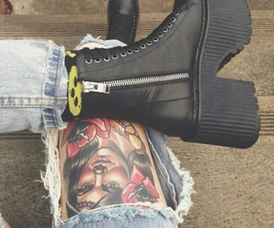 style, grunge, and shoes image