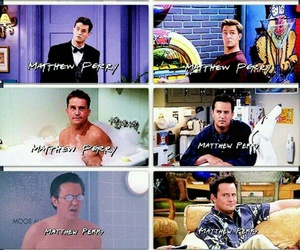 chandler bing, f.r.i.e.n.d.s, and Matthew Perry image