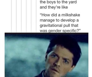 funny, post, and supernatural image