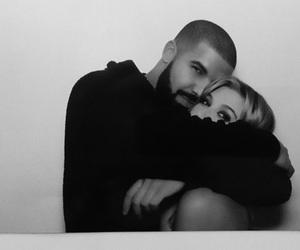 Drake and hailey baldwin image