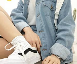 denim, outfits, and style image