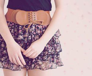fashion, skirt, and belt image