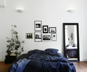 bed, bedroom, and couple image