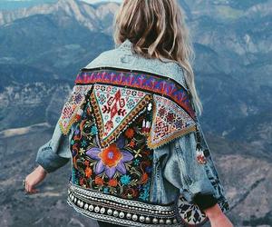 fashion, jacket, and travel image
