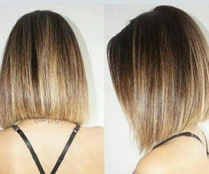 hair, haircut, and balayage image