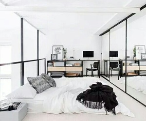 home, room, and bedroom image
