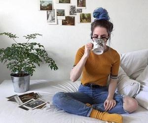 girl, aesthetic, and grunge image