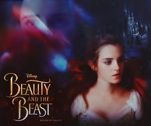 beauty and the beast, disney, and emma image