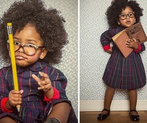 black, children, and melanin image