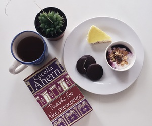 biscuit, book, and breakfast image
