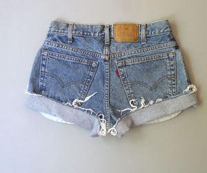 ebay, levi's, and shorts image