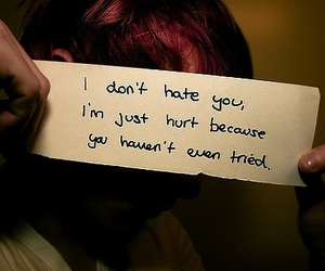 hate, hurt, and boy image