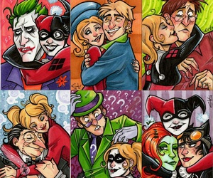 DC and harley quinn image