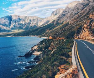 travel, road, and nature image